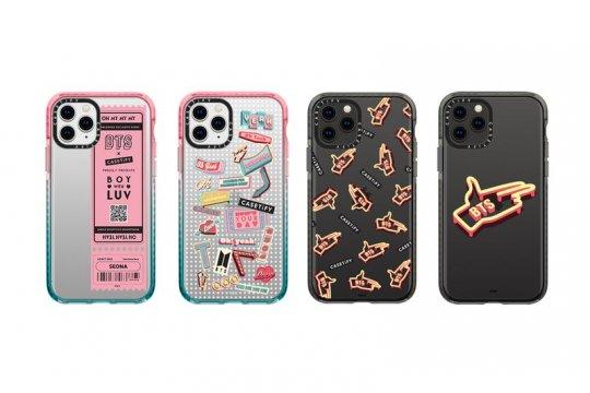 Casetify gandeng BTS hadirkan lini aksesori ponsel