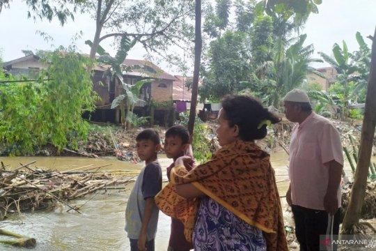 Belasan bangkai babi juga ditemukan di Sungai Babura Medan