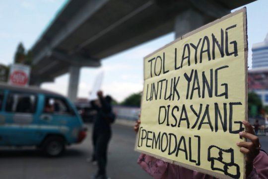Lisan desak tol layang Makassar segera diselesaikan