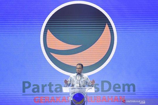 Anies bicara soal persatuan di Kongres II NasDem
