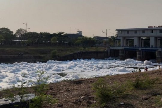 Dinas: busa serupa salju di BKT berjenis detergen