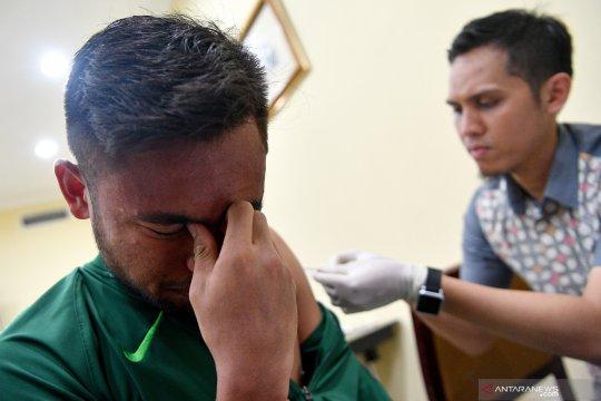 Vaksinasi Polio untuk pemain Timnas U23