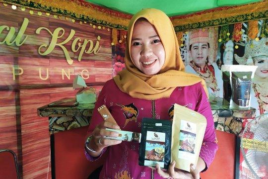 Cokelat khas Pesawaran ramaikan Festival Kopi Lampung