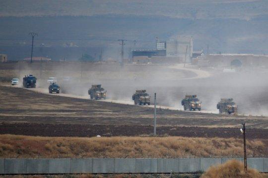 Rusia kerahkan helikopter militer untuk patroli di Suriah-Turki