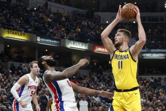 Pacers tuntaskan dendam pada Pistons dengan kemenangan 112-106