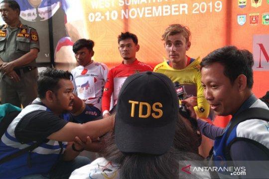 Fisik pebalap diuji etape lintas provinsi TdS 2019