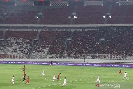 Timnas U-19 tertinggal 0-1 dari Korut babak pertama