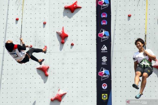 Peluang Indonesia tuan rumah kejuaraan panjat tebing Asia tertutup