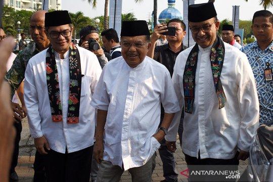 Bertemu JK, Anies bicarakan Masjid Apung Ancol jadi ikon masjid unik