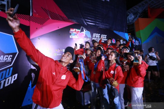 Peluang tim panjat tebing Indonesia tampil di Olimpiade 2020 tipis