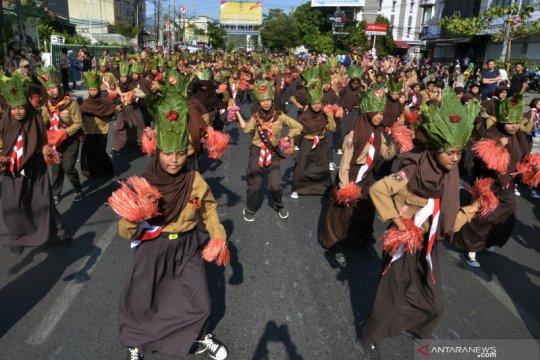 """25.036 Pramuka Bandarlampung gelar """"Tari Indonesia Menari"""""""
