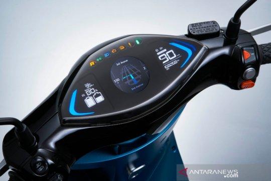 """Kymco i-One DX, skuter listrik bisa cari tempat """"nge-cas"""""""