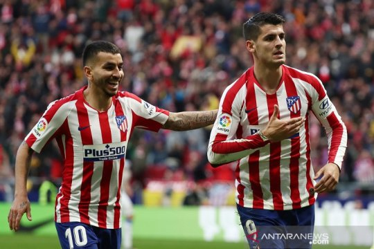 Bekap Espanyol 3-1, Atletico ke posisi ketiga