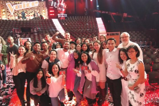 Di hari Pahlawan, Claudia juara The Voice of Germany 2019