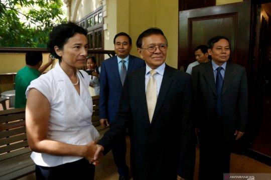 Hakim Kamboja tutup penyelidikan terhadap pemimpin oposisi