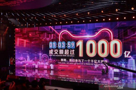 Alibaba capai 12 miliar dolar AS dalam satu jam pertama di 11.11