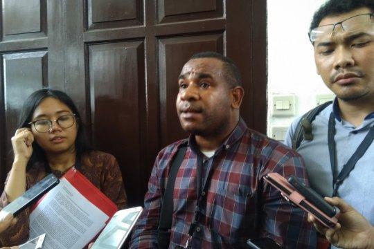 Kuasa hukum aktivis Papua kecewa Polda Metro Jaya tidak hadiri sidang