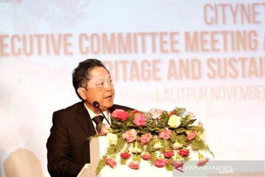 """Wali Kota Denpasar pembicara """"City Net Forum"""" di Nepal"""