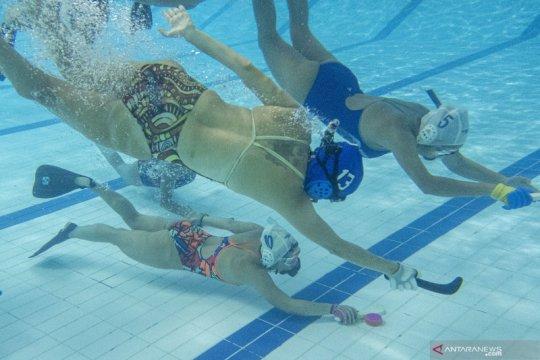Pelatnas hoki bawah air