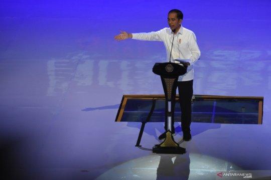 Jokowi tegaskan partai koalisi pemerintah rukun