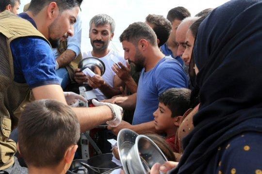 120.000 orang selamatkan diri dari serangan Idlib Suriah