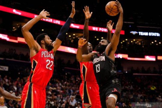 NBA : Houston Rockets melawan New Orleans Pelicans