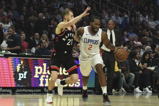 Clippers menang dalam laga Leonard reuni dengan Raptors