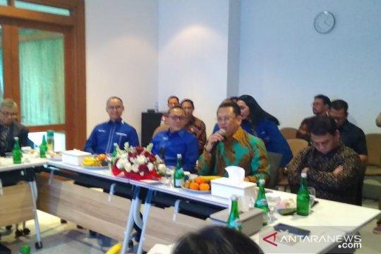 Pimpinan MPR kunjungi DPP PAN