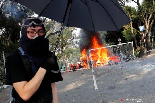 Hong  Kong akan tutup semua sekolah hingga Minggu di tengah unjukrasa