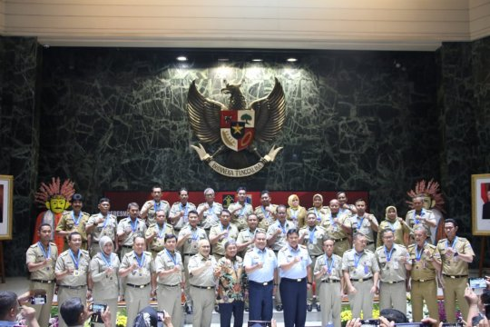 31 kelurahan di Jakarta dinobatkan sebagai Kelurahan Sadar Hukum 2019