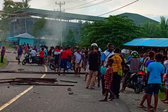 Perwira polisi serahkan diri ke Propam usai tabrak warga di Manokwari