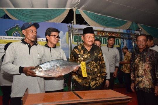 Bandeng seberat 7,66 kilogram juarai lelang di Sidoarjo
