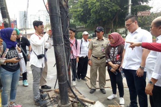 Dinas Bina Marga DKI targetkan kabel utilitas rampung Desember