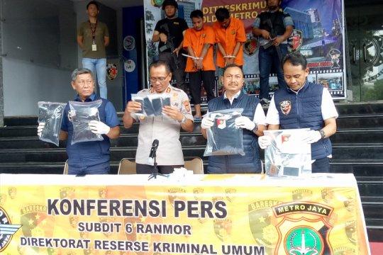 Polda Metro Jaya bekuk dua copet yang kerap beraksi di CFD
