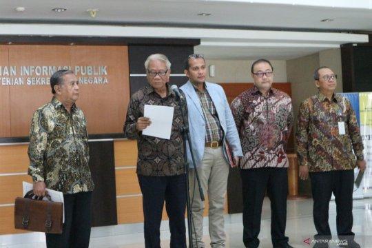 Pansel MK sudah serahkan tiga nama ke Presiden Jokowi