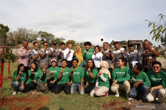 Situs purbakala Ratu Boko dihijaukan ribuan pepohonan