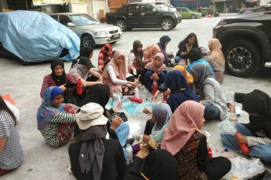 Komunitas Saudara1Negara sosialisasi ecobrick di Kuala Lumpur