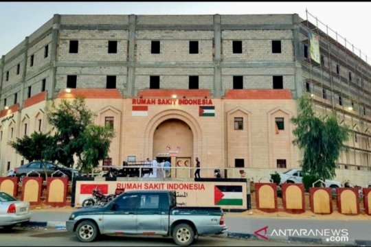 Pembangunan RS Indonesia tetap jalan meski situasi Gaza memanas