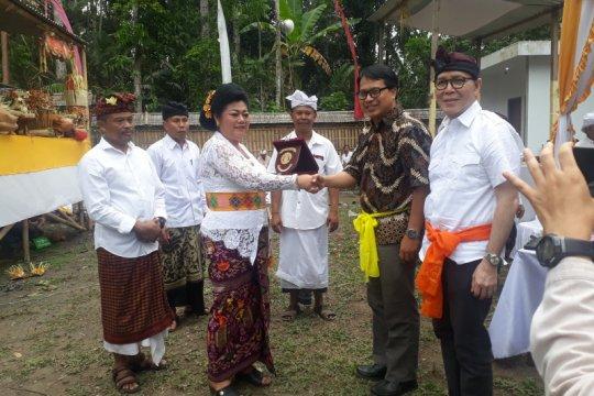 Bupati Karangasem apresiasi pembangunan museum Sanghyang Dedari
