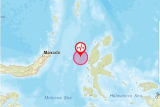 Gempa magnitudo7,1, Wali Kota Bitung imbau warga tetap tenang