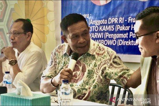 Soal PKPU, DPR akui ada kekosongan hukum dalam UU Pilkada