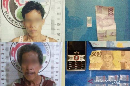 Berbeda jam, Polisi Tanjungbalai tangkap dua laki-laki terlibat narkotika