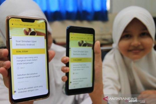 Kemenag Aceh terapkan ujian semester berbasis online
