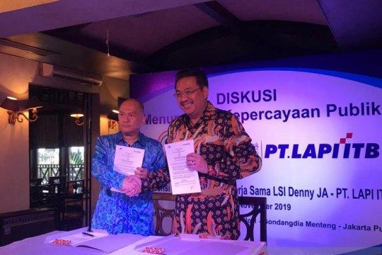 LSI Denny JA dan LAPI ITB kerja sama program pendidikan opini publik