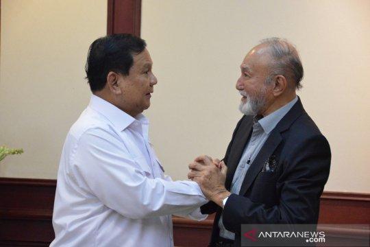 Bertemu Prabowo, Wali Nanggroe Aceh minta realisasi UUPA dipermudah