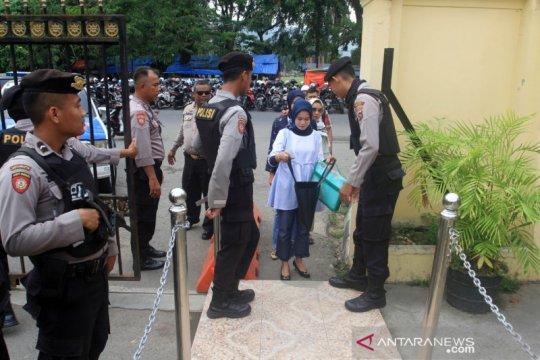 Polresta Padang perketat penjagaan usai ledakan di Polrestabes Medan