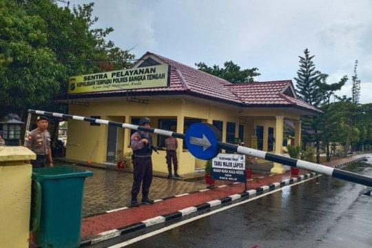 Polres Bangka Tengah perketat pengamanan pascaledakan bom di Medan
