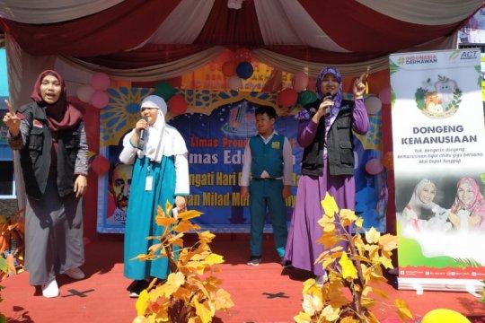 ACT Jatim berikan dongeng kemanusiaan kepada siswa sekolah