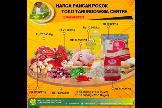 Toko Tani Center Pasar Minggu tambah pasokan jelang tahun baru