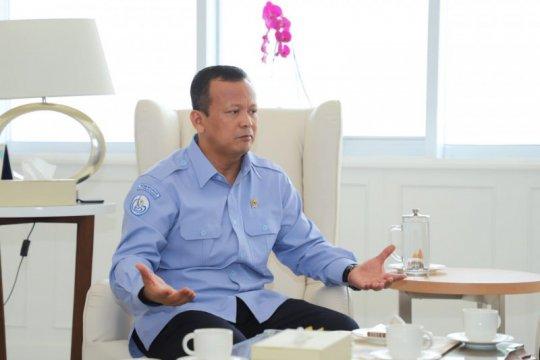 Menteri Edhy apresiasi rencana Pangkal Pinang bangun pasar ikan modern